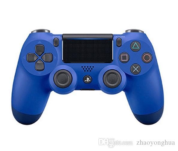 Perakende Kutusu ile video oyunları için PlayStation 4 PS4 Oyun Kontrolörü Gamepad Joystick Joypad için en iyi kalite PS4 Kablosuz Game Controller