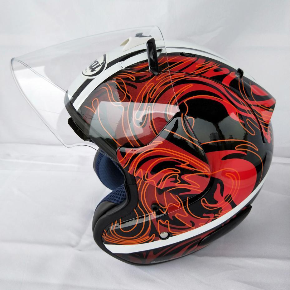 Acheter 2019 Arai Double Usage Crâne Moto Casque Capacete Casco