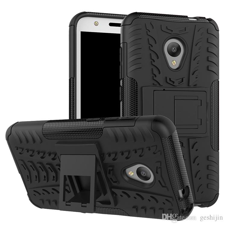 more photos 76b81 65d80 Waterproof Phone Case For Alcatel u5 Hybrid Combo kickstand case For  Alcatel u5 shockproof Back cover