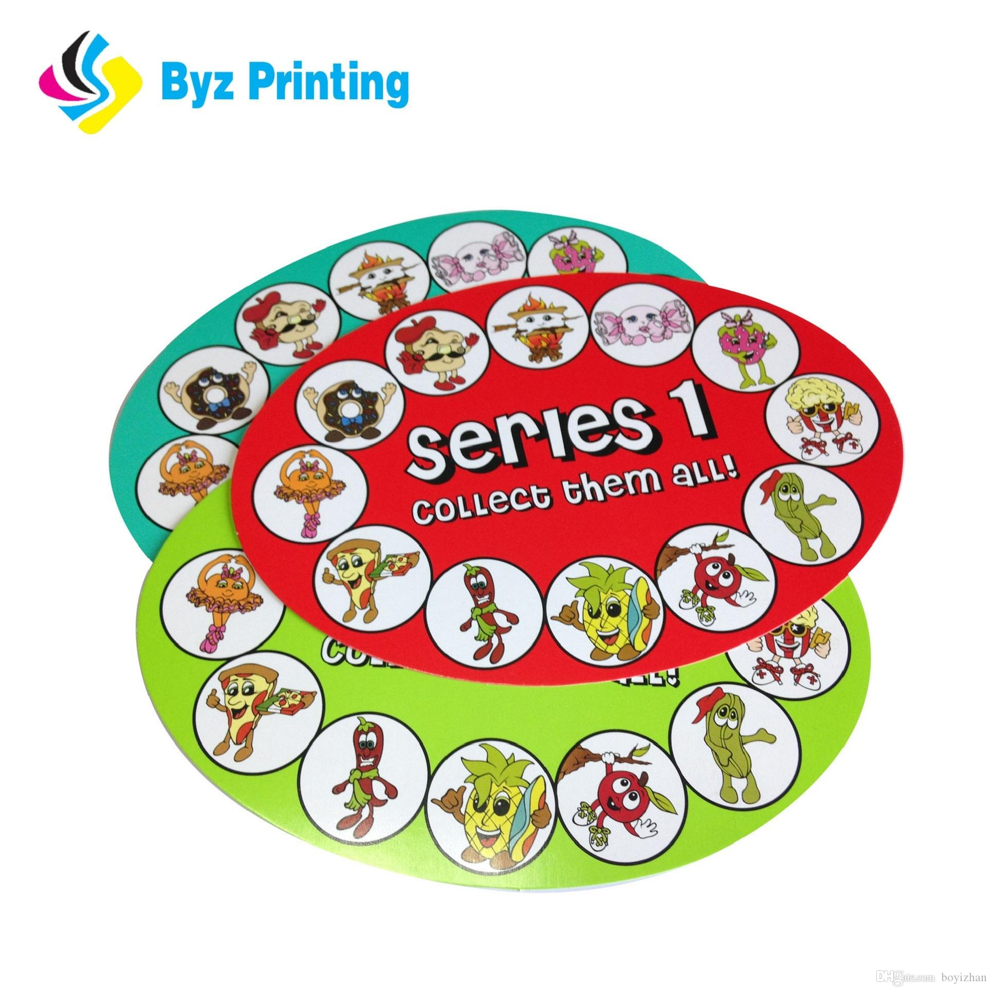Custom food labels of various shapesfull color labelsadhesive packaging sticker