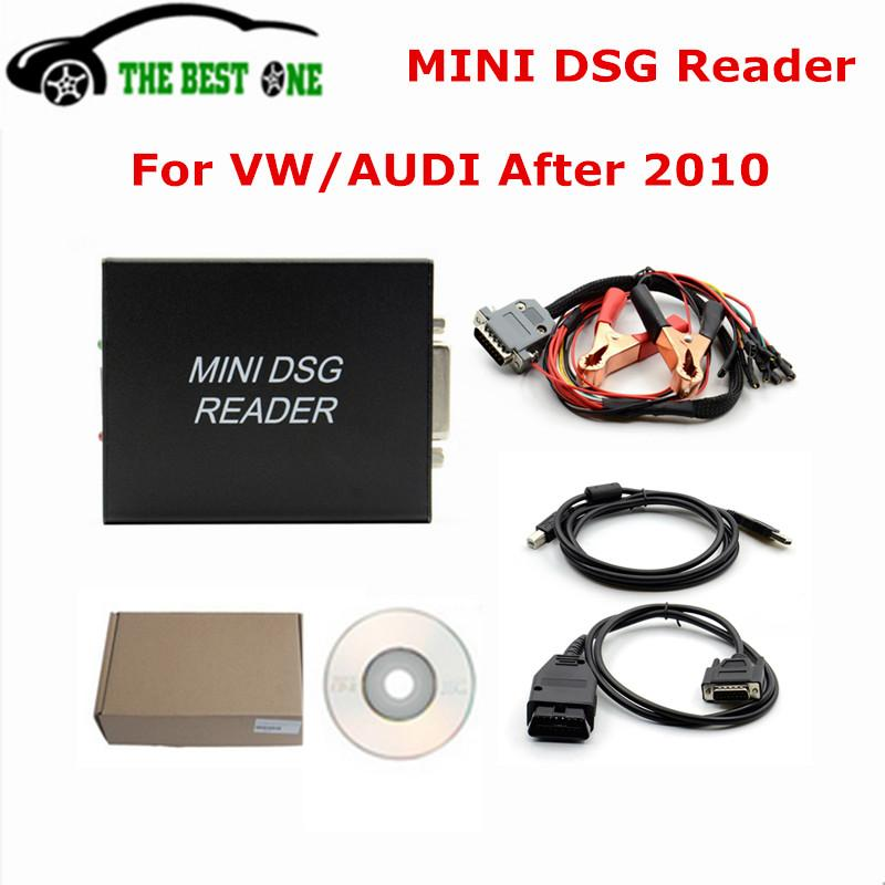 DHL Free Shipping MINI DSG Reader DQ200 DQ250 Clear Gearbox Fault Code For  Audi/VW Cars Geabox Data Reading & Writing Tool