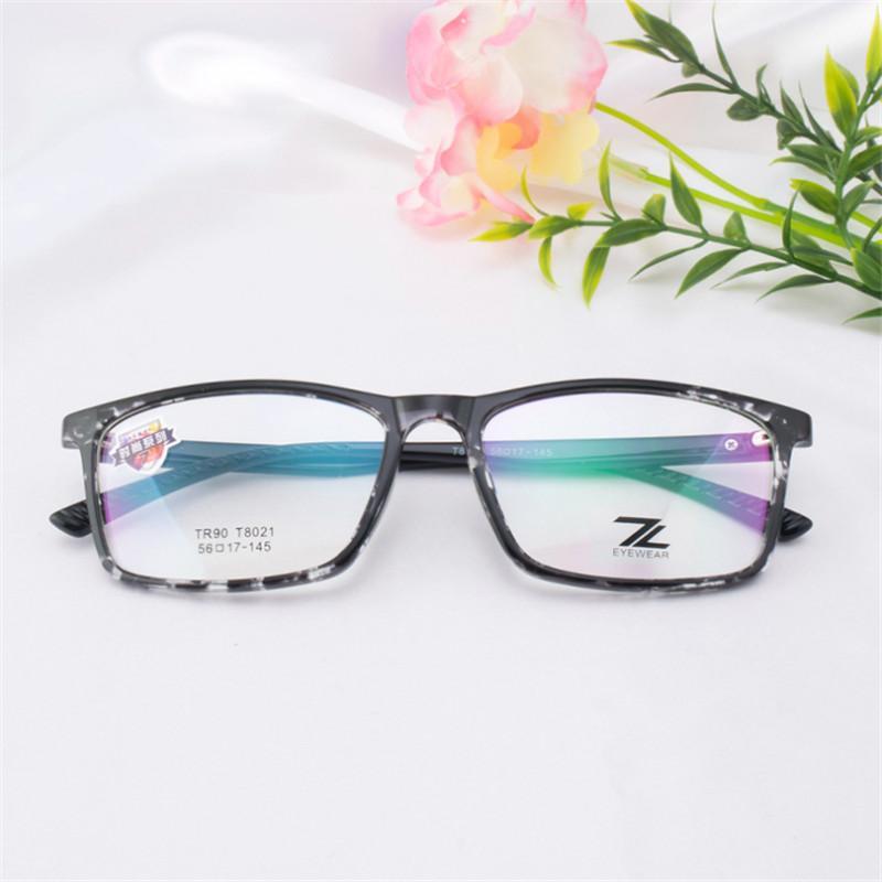cc6ea7157831 2019 TR90 Glasses Frame Mens Prescription Glasses Retro Large Framed Light  Comfortable Eye Women 021 Optical From Melontwo