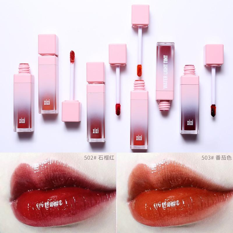 Brand Korean Style Red Liquid Matte Lipstick Lasting Moisturizr Lip Tint Glazed Lipgloss Tattoo  Batom Lip gloss Cosmetics