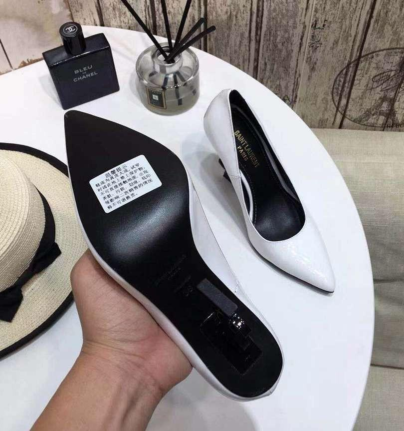 19ss Women's Elegant Dress Shoes High Heels Genuine Leather Shoes Brand Quality And Personality Heels Design