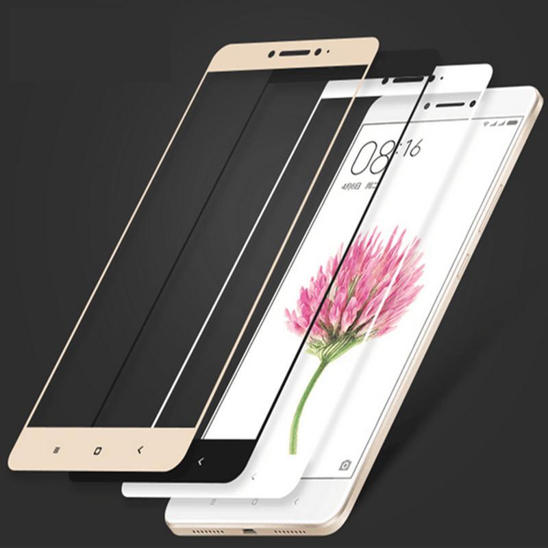 release date 21d23 a06e7 For Xiaomi Mi Max Tempered Glass Color Full Cover Screen Protector Film  Guard For Xiaomi Mi Max2 Max3 Pro Mobile Phone