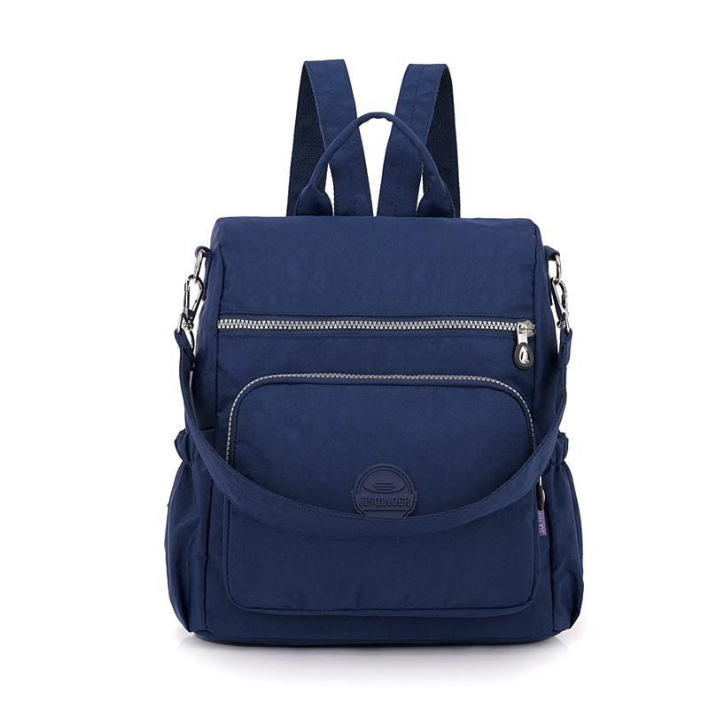 b73b45c128 Fashion Women Nylon Backpack Schoolbag For Teenage Girls Rucksacks Travel Shoulder  Bags Satchel School Bag Designer High Quality Backpack Purse Dog Backpack  ...