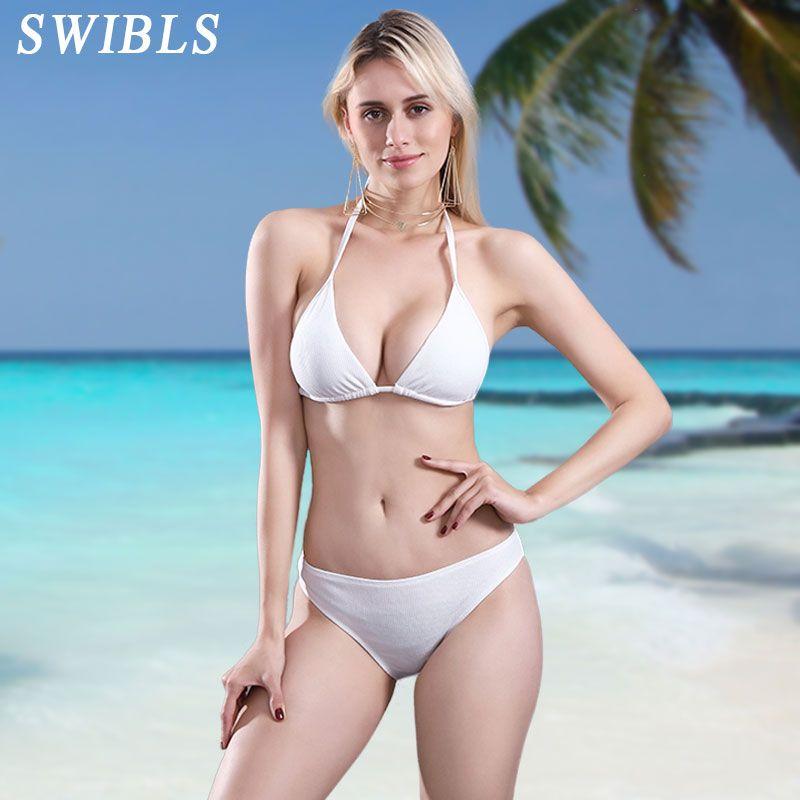 Cheap white bikini