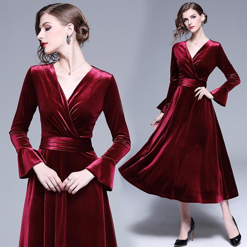 3d7b225a71e Runway Fashion Irregular Pleated Skirt Luxury Dresses New Arrival ...
