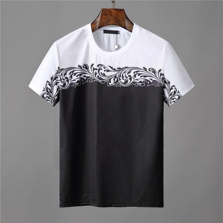 Acheter Mens De Luxe T Shirts V Ersace Marque