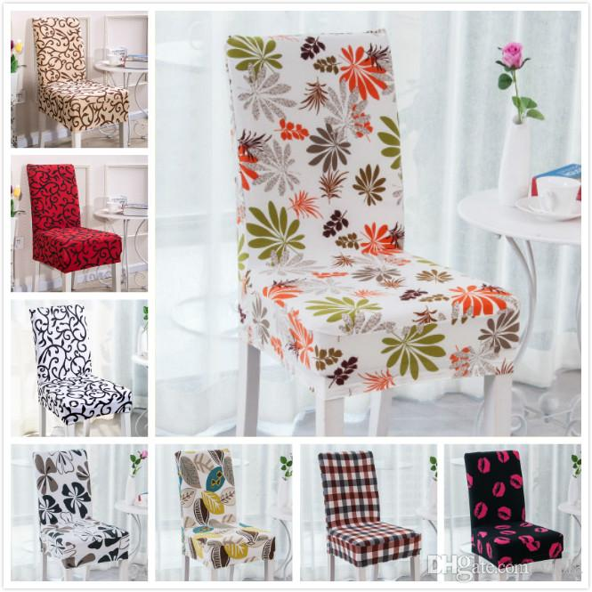New Arrive Floral Printing Chair Cover Home Dining Multifunctional Spandex Chair  Cover Removable Elastic Slipcovers Seat Covers 12 Styles Buy Wedding Chair  ...