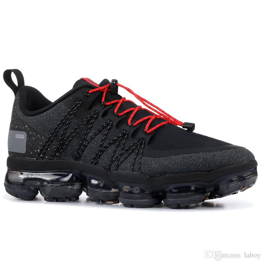 d85e4911b7 Compre Nike Air Max Airmax 2019 Run Utility Zapatillas Para Correr Hombres  Triple Blanco Negro Reflectante Mediano Oliva Borgoña Crush Designer Hombres  ...