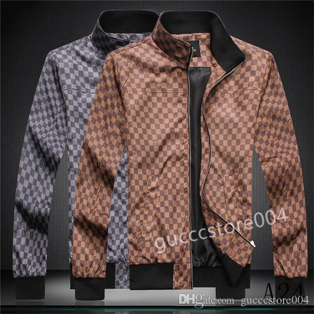 2020 Autumn and winter new hot lapels slim jacket Medusa men windbreaker jacket men's hoodie clothing zipper casual jacket free shipping a03