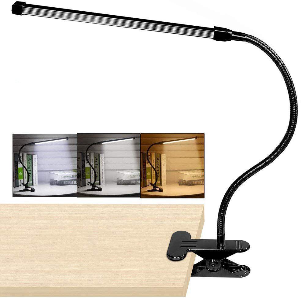 Câble 2mTable 8 Led De Modes Pince Variateur 10 Lampe Niveaux Avec À WBureau 3 hsxtdQrC