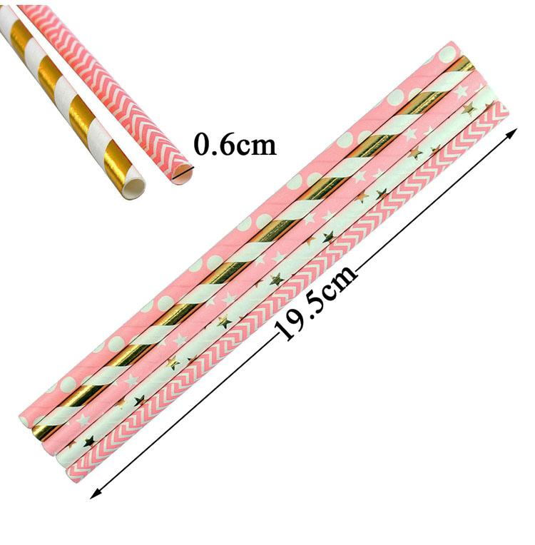 Paper Drinking Straws Birthday Party Decoration Boy Girl DIY Wedding Bachelorette Hen Party Bride to be Bridal Shower