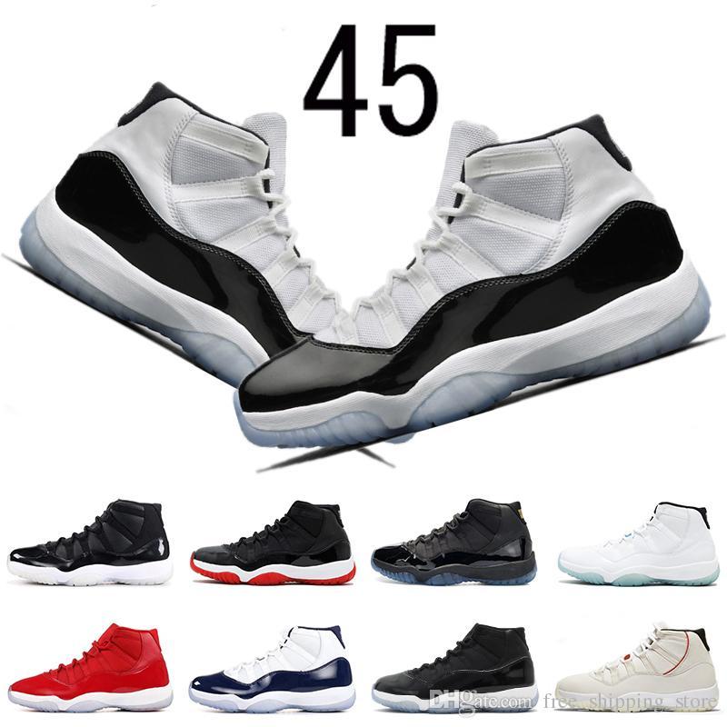 new concept 12842 f2dd8 ... inexpensive compre air jordan retro 11 concord 45 11s zapatillas de baloncesto  para hombre tinte de
