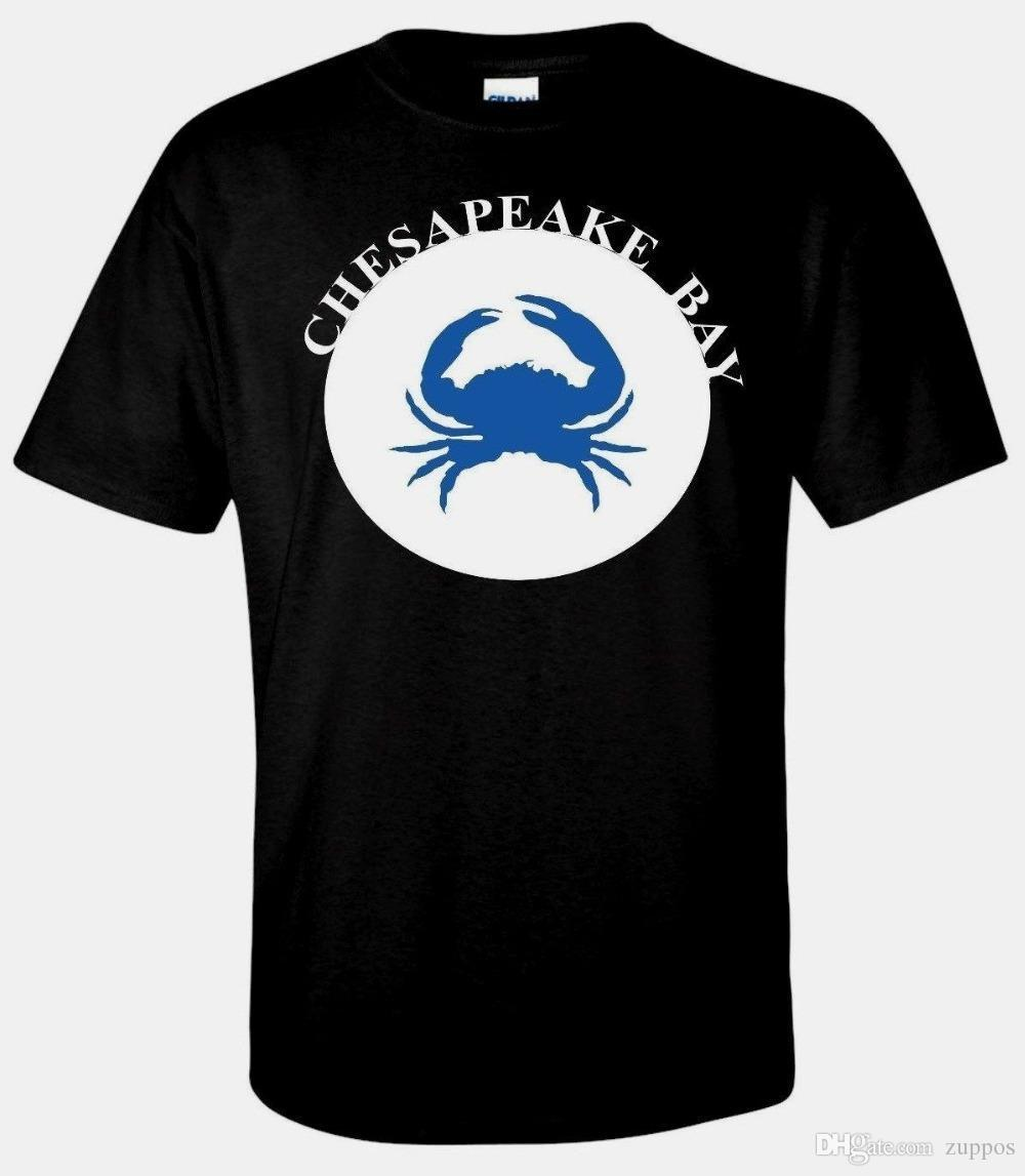 Compre Com VA Black Chesapeake Fishman Cangrejo DHgate Maryland 12 VIRGINIA Crab Camiseta Hombre Del A Beach Jie022 Para 08 Bay rr84qwnHP