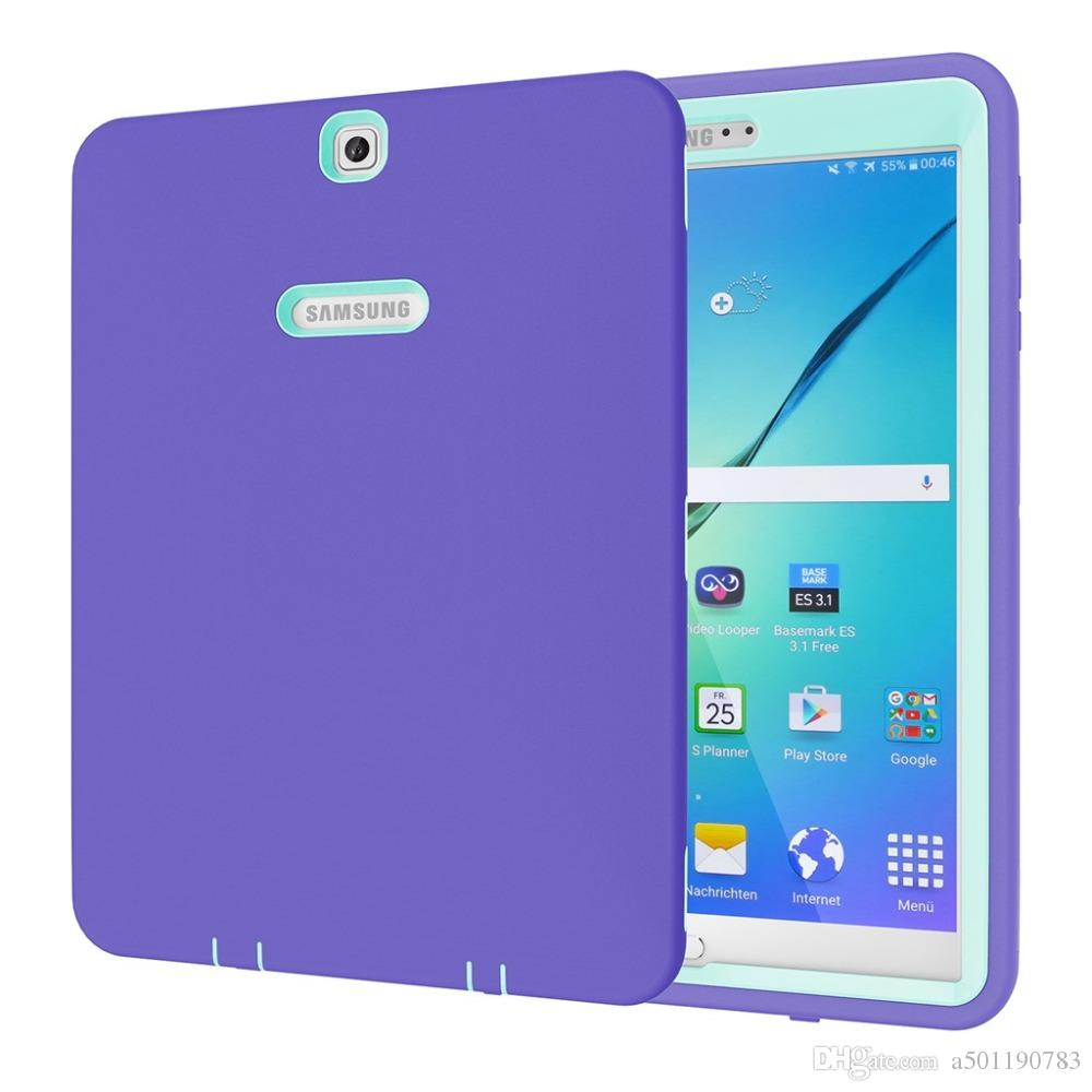 low priced 905a2 b6761 Cover for Samsung Galaxy Tab S2 9.7 Case Silicon Cover for Samsung Tab S2  9.7 T815 T810 T813N T819N Stylus Pen Film.