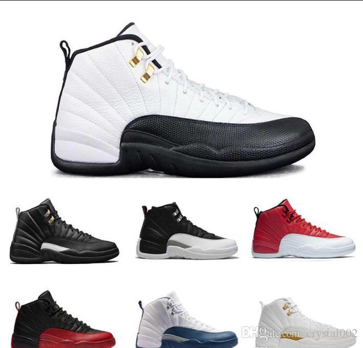12s White 12 Basketball Nike Shoes Retro Ovo New Air Jordan