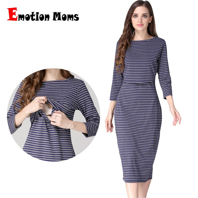 7137d0fc2ed03 2019 Emotion Moms Party Maternity Clothes Maternity Dresses ...