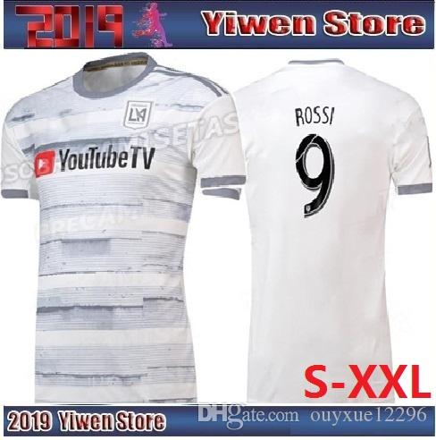 New 2019 LAFC Thailand Carlos Vela Soccer Jerseys 19 20 Away GABER ... 72be65e4b