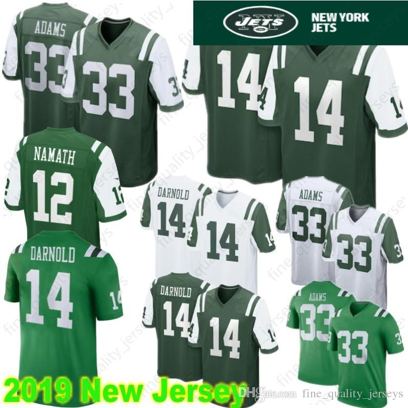 online store a69af c1769 14 Sam Darnold Jerseys New York 12 Joe Namath Jets 33 Jamal Adams Tampa  Bays Buccaneers 3 Jameis Winston 13 Mike Evans Stitched