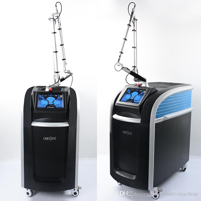 Professional Picosecond Laser Pigment Pico Lazer Machine Spots Pigmentation Removal 755nm Focus Lens Array Picoway Pico Laser Equipment