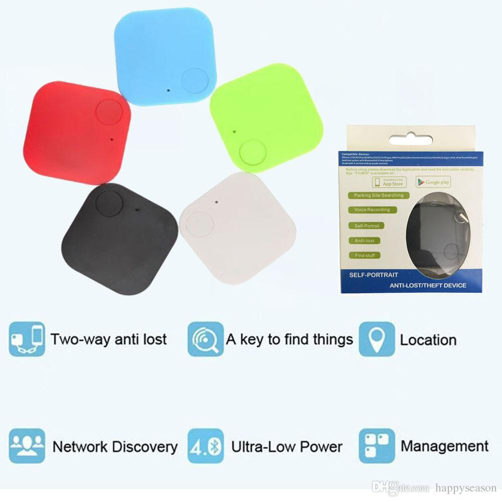 Wireless Bluetooth 4 0 Square Anti Lost Locator Alarm Tracker Finder