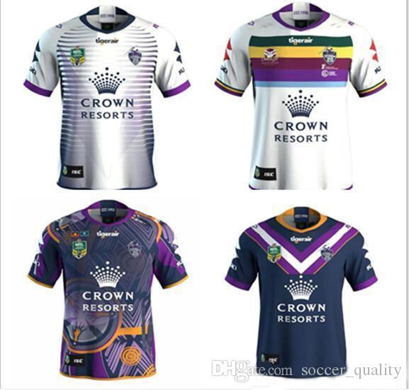 3cfbce66198 2019 News 2018 2019 Melbourne Storm Home Away Rugby Jerseys NRL National  Rugby League Shirt Nrl Jersey Newest MELBOURNE STORM Shirts S 3xl From ...