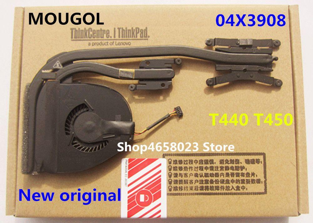 MOUGOL New Original Laptop CPU Cooling Heatsink Fan For Lenovo Thinkpad  T440 T450 Series,FRU 04X3908 04X3910 0C78133 00HM072