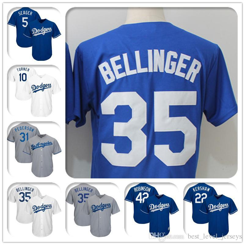 huge selection of 5dc01 eb99e 10 Justin Turner 22 Clayton Kershaw Hernandez Cool Base Dodgers Jerseys  Mike Piazza Jackie Robinson Player Jersey fast shipping