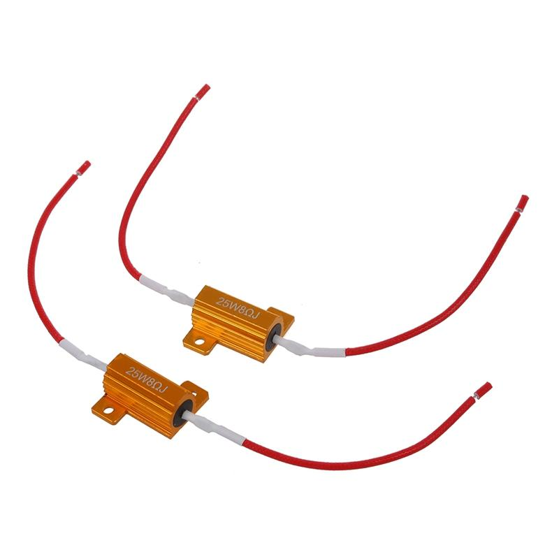2 PCS 25W 8R Decoding Resistance Band with Line Break Line Snaps