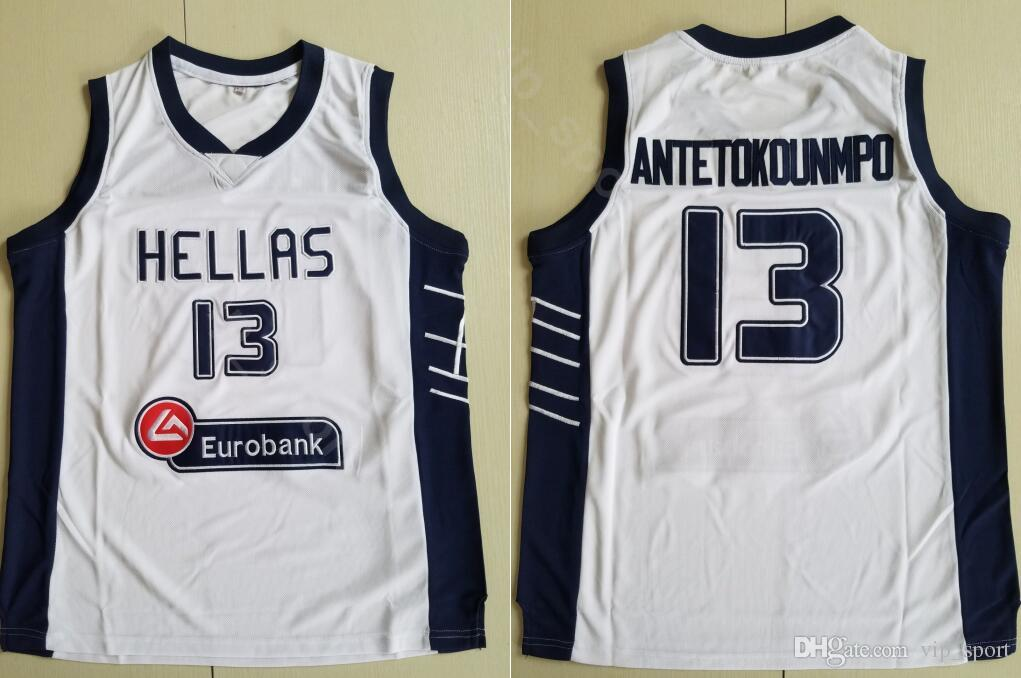 eb12f7ce770 2019 Moive Giannis Antetokounmpo Jersey 13 Men The Alphabet Basketball  Greece Hellas Jerseys Sale University Breathable For Sport Fans Hot Men  From ...
