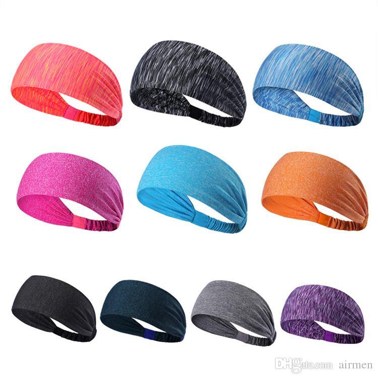f3b8058e6750 Sport Headband Under Sweat Wicking Stretchy Athletic Bandana ...
