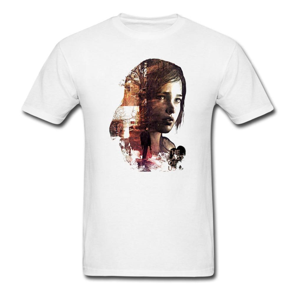 2f8326e7 Mens Designer T Shirts Shirt The Last Of Us T Shirt Video Game  Persionalized Custom Men Women T Shirt Euro Size S~XXXL Cool Tee Shirt T  Shirt Online Buy ...