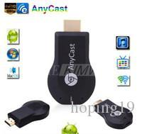 Yeni Anycast M2 Artı DLNA Airplay WiFi Ekran Miracast Dongle HDMI Multidisplay 1080 P Alıcı AirMirror Mini Android TV Sopa Daha iyi ezCas