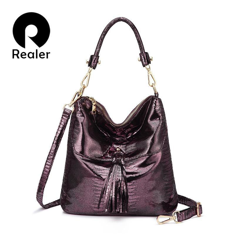 REALER SHOULDER BAG HANDBAGS WOMEN /'S DESIGNER HOBO CROSSBODY BAGS LADIES WB1232
