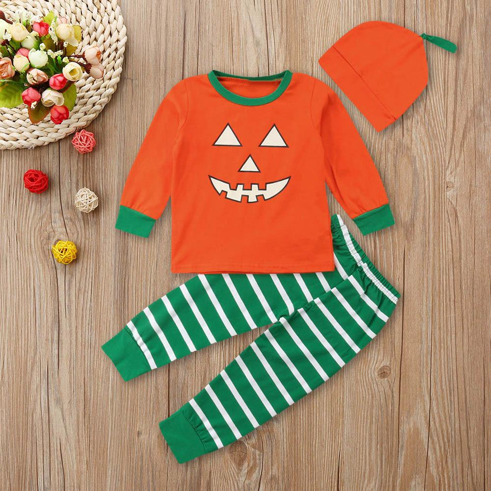 25bd8bb2d102 2019 Good Quality Fashion Baby Clothes Set Halloween Outfits Pants ...