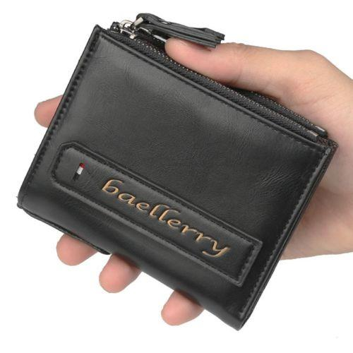 f5b621fd9507 Mens Bifold Leather Credit ID Card Holder Coin Zipper Purse Wallet Clutch Men  Wallet Card Holder Pocket Fashion Wallet Online with $12.57/Piece on ...