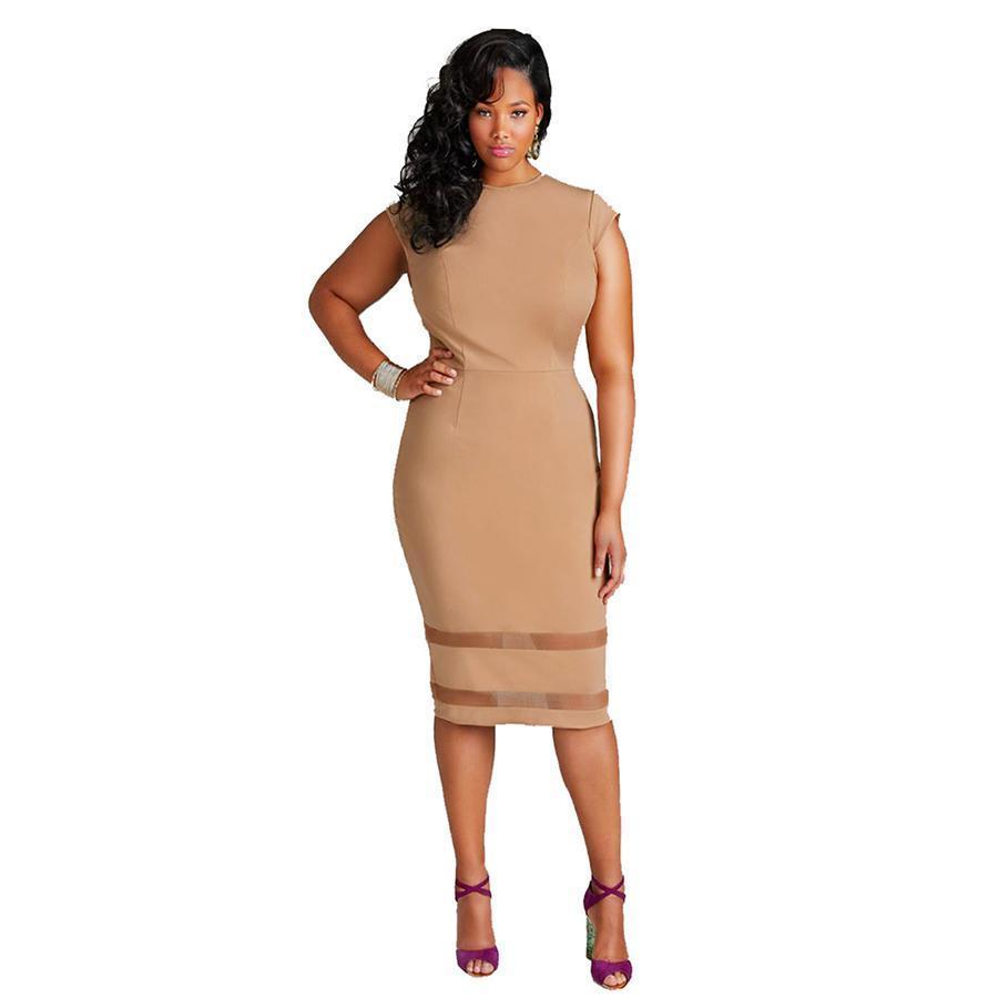 Plus Size Dresses Inexpensive