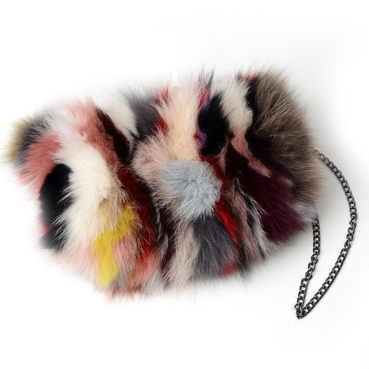 Good Quality Luxury Real Fox Fur Women Messenger Bags Designer Winter New  Fashion Ladies Chain Crossbody Shoulder Handbag Clutch Bag Wholesale  Handbags ... 270289bde902c