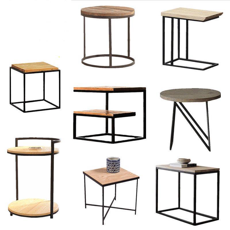 Acheter Loft Vintage Table à Thé En Bois Et En Métal Table Basse