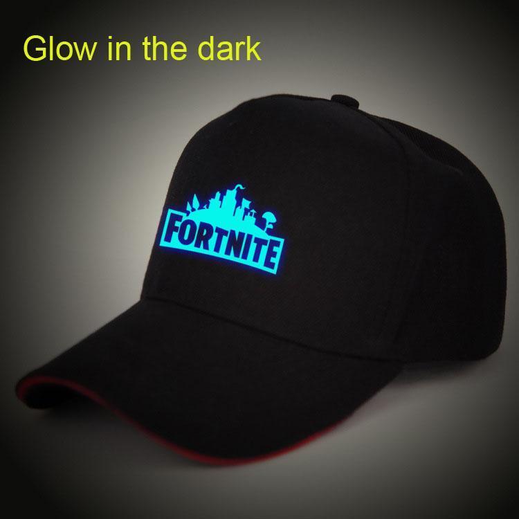 9b2ff08270b3 Fortnite Hat Glow in the Dark Baseball Cap Sun Hat for Men Women ...