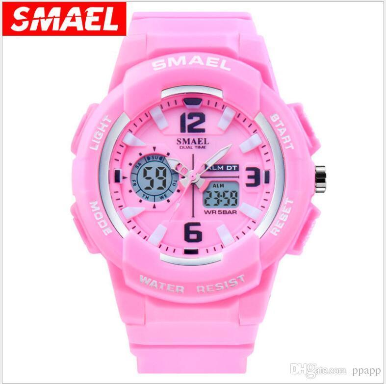 87568daf37cf Compre Relojes Digitales Para Niños Reloj Para Niños Reloj Deportivo Para  Niños Pantalla LED Relogio1643 Para Niños Relojes Infantiles Para Niñas  Digital A ...