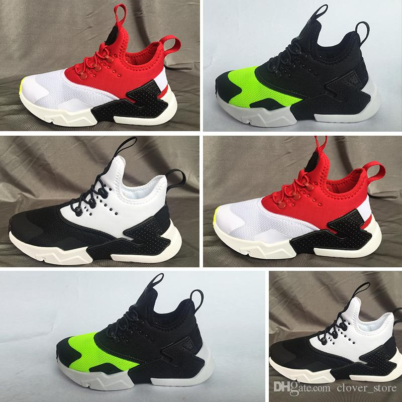 New Air Huarache V1 Hot Sale Children Sport Athletic Shoes Boys And Girls Sneakers  Children S Running Shoes For Outdoors Aactivities Kids Best Shoes Kids ... b0efbae91712