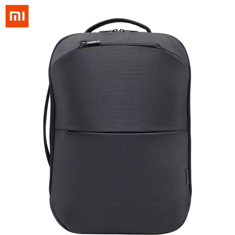 f90a71cd9903 Xiaomi 90FUN City Concise Backpack Anti Theft Zipper 15.6 Inch Laptop Bag  College School Business Men Women Casual Daypack Black Waterproof Backpack  Kids ...
