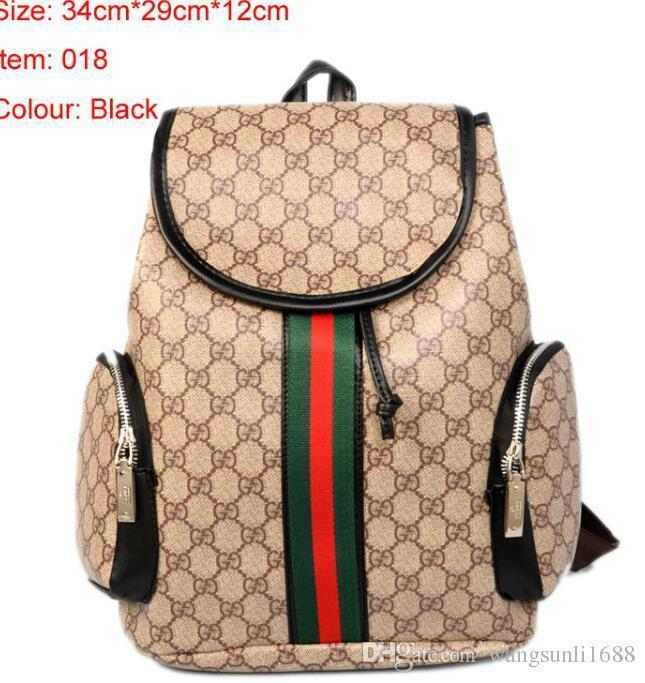 1baf3393f733 High Quality Europe 2018 Luxury Brand Women Backpack Men Bag Famous  Designers Canvas Men S Backpack Women S Travel Bag Backpacks Cute Bags  Purses For Women ...