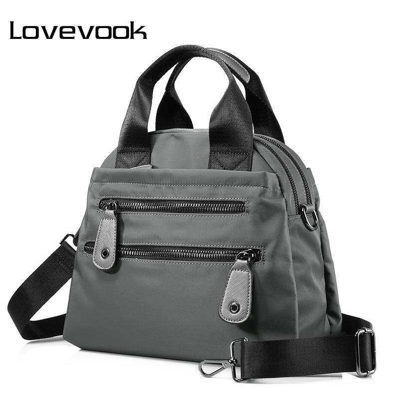 LOVEVOOK Women Nylon Waterproof Handbag Travel Casual Shoulder Bag Large  Capacity Crossbody Bags Fashion Ladies Zipper Handbags Duffle Bags Clutch  Bags From ... 2a2d58286e
