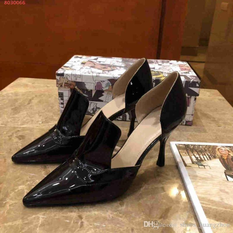 8071acee755 New Style Star High Heels Fine With Shallow Mouth Sexy Temperament Leather  Outsole Black High Heels Women Shoes Boots For Men From Shoes guangzhou
