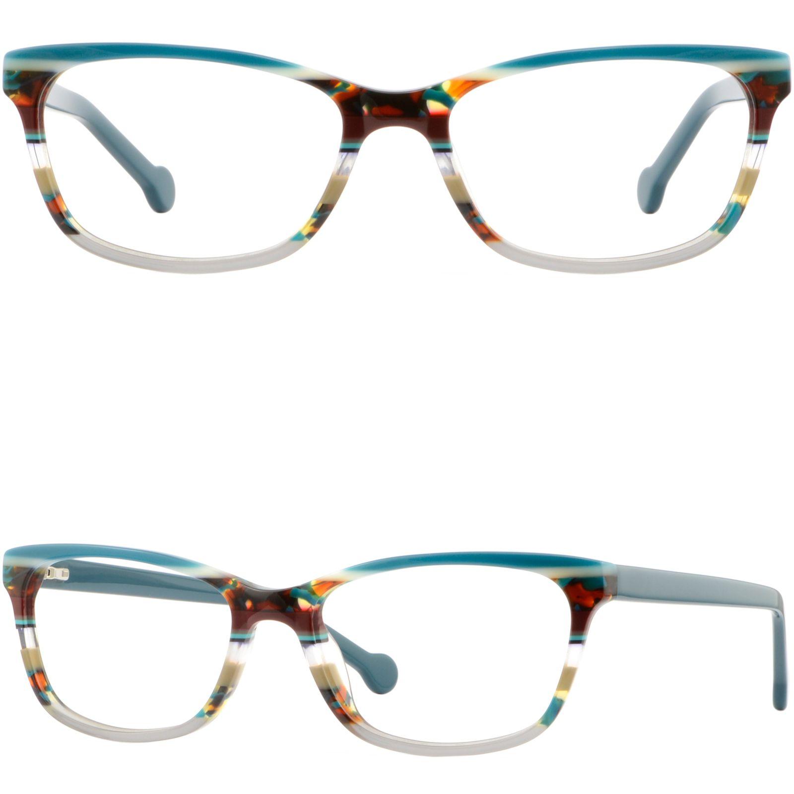 Acetate Plastic Frames Prescription Glasses Spring Hinges Sunglasses  Turquoise