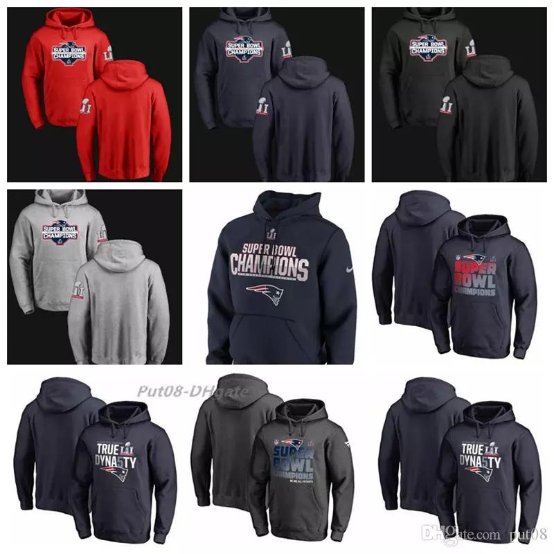 a38fea617307 2019 Men Women Youth Patriots Pro Line By Branded Super LI Bowl Champions  Designmen Own Pullover Alternate Pullover Hoodie From B792